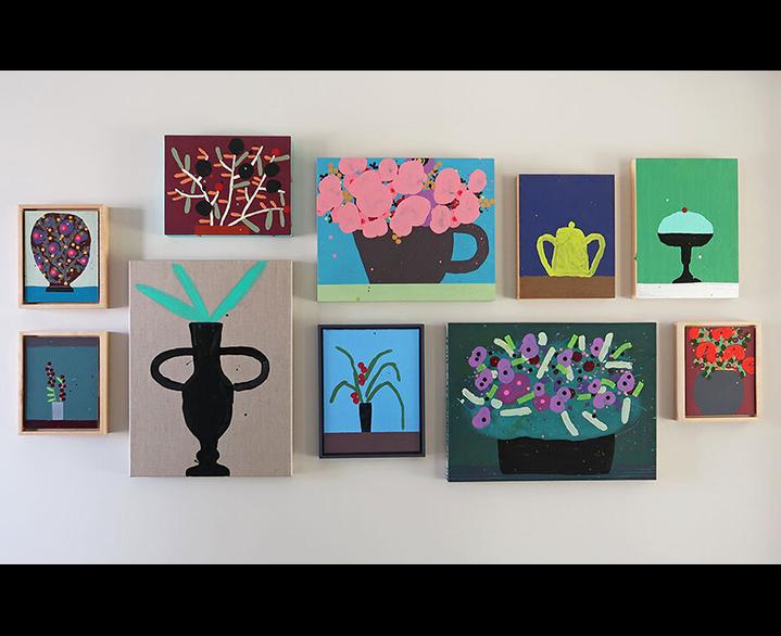 Tucker Nichols Artwork on the wall