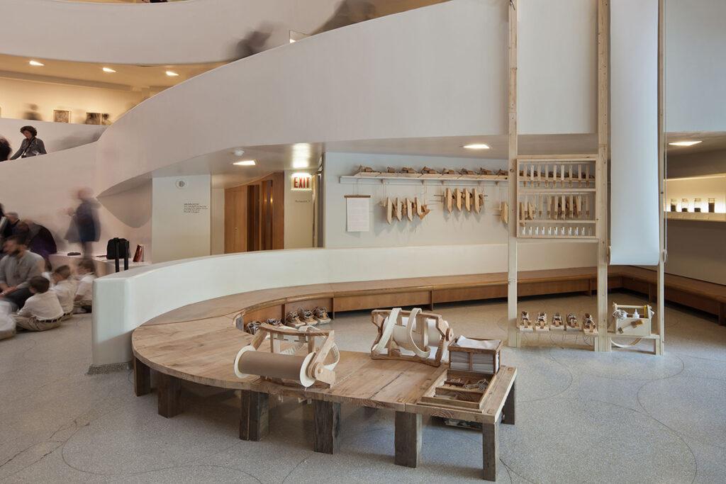 Michael Swaine artwork in the Guggenheim